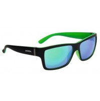 ALPINA Okuliare KACEY čierno-zelené matné sklá CERAMIC mirror zelené S3