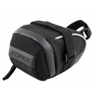 FORCE taška pod sedlo RIDE 2 suchý zip, čierna