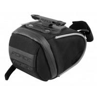 FORCE taška pod sedlo RIDE 2 klick, čierna