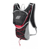 FORCE batoh TWIN 14 l, čierno-červený