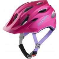 ALPINA Cyklistická prilba Carapax JR. Flash ružovo-fialová