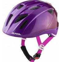ALPINA Cyklistická prilba Ximo Flash fialovo lesklá