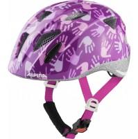 ALPINA Cyklistická prilba Ximo fialové ruky