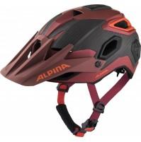 ALPINA Cyklistická enduro prilba Rootage indigo-cherry