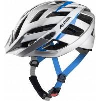ALPINA Cyklistická prilba PANOMA 2.0 strieborno-bielo cyan