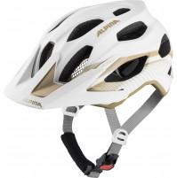 ALPINA Cyklistická prilba Carapax 2.0 biela-prosecco