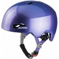 ALPINA Cyklistická prilba HACKNEY flip flop fialová