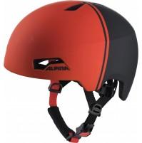 ALPINA Cyklistická prilba HACKNEY čierno-červená