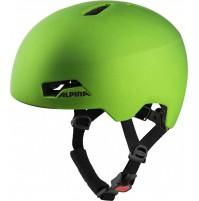 ALPINA Cyklistická prilba HACKNEY zelená mat