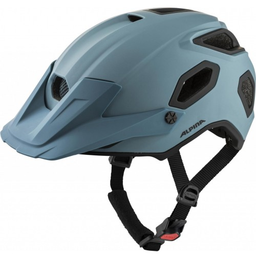 ALPINA Cyklistická enduro prilba Comox dirt-blue mat