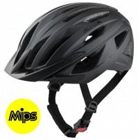 ALPINA Cyklistická prilba DELFT MIPS čierna mat