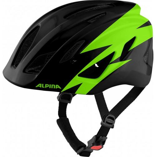 ALPINA Cyklistická prilba PICO čierno-zelená