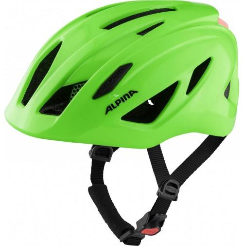 ALPINA Cyklistická prilba PICO FLASH neonovo zelená