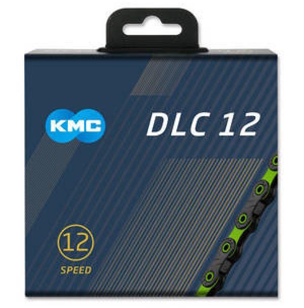 KMC Reťaz DLC 12 čierno-zelená, 126 článkov