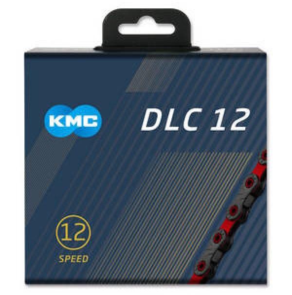 KMC Reťaz DLC 12 čierno-červená, 126 článkov