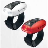 Blikačky SIGMA MICRO COMBO červená + biela