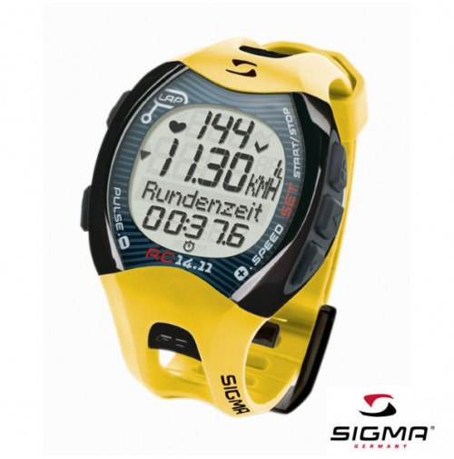 Športtester SIGMA RC 14.11 yellow