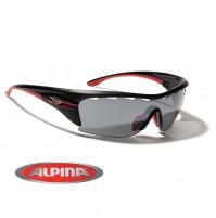 Cyklistické okuliare Alpina TRI-PRAFFIX 3.0 čierne