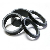 Spacer 1 1/8 carbon set 4 ks