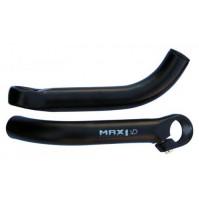 Rohy MAX1 oblé čierne 180 mm