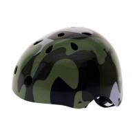 Prilba Free Style-Inline-BMX camouflage