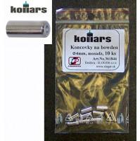 Koncovky na bowden Kollars 4mm, 10 ks