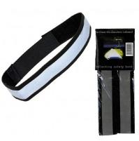 Reflexné pásky stretch - pár (na nohavice/rameno)