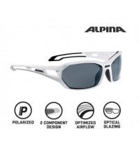 Okuliare Alpina BERRYN P biela mat-čierne