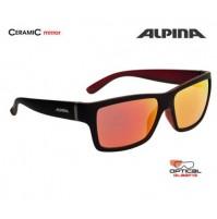 Okuliare Alpina KACEY čierno-červené matné