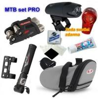 MTB set Pro - taška pod sedlo + výbava