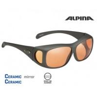 Cyklistické okuliare Alpina OVERVIEW titanové