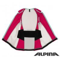 Lyžiarska vesta ALPINA Soft Protektor women white berry