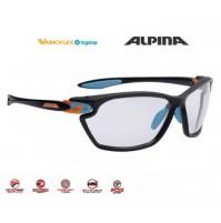 Cyklistické okuliare Alpina Twist Four 2.0 VL+ black-cyan-orange