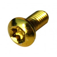 Skrutky na brzdový kotúč MAX1 zlaté - 12 ks
