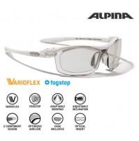 Cyklistické okuliare Alpina PSO TWIST FOUR VL+ biele