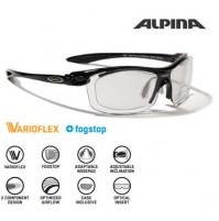 Cyklistické okuliare Alpina PSO TWIST FOUR VL + čierne