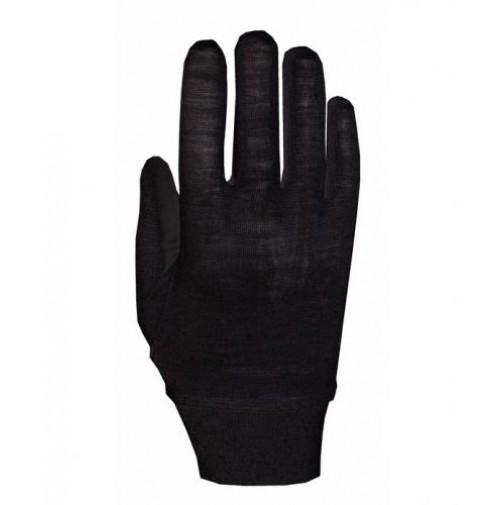 Vnútorné rukavice Roeckl Merino čierne