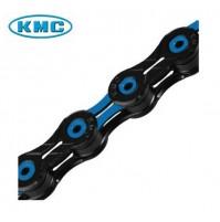 Reťaz KMC X-10-SL DLC ACE čierno-modrá