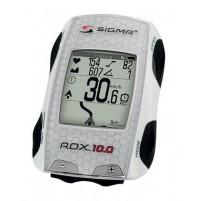 Cyklocomputer SIGMA ROX 10.0 GPS biely