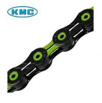 Reťaz KMC X-10-SL DLC ACE čierno-zelená