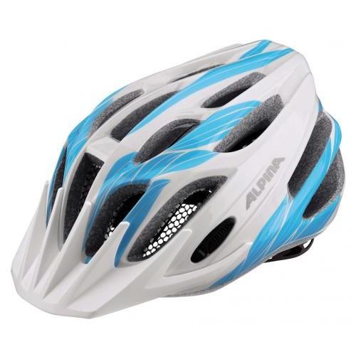 Cyklistická prilba ALPINA FB JUNIOR 2.0 bielo-azúrová