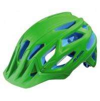 Cyklistická prilba ALPINA Garbanzo neónovo-zeleno-modrá