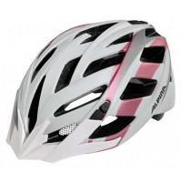 Cyklistická prilba ALPINA PANOMA L.E bielo-ružovo-zlatá