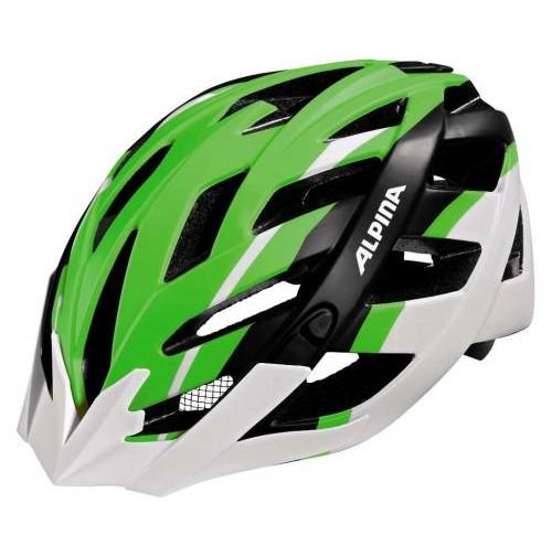 Cyklistická prilba ALPINA PANOMA L.E neónovo zeleno-čierno-biela