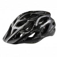 Cyklistická prilba ALPINA MYTHOS 2.0 čierna-biele čiarky