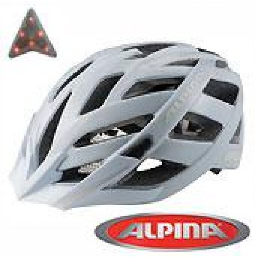Cyklistická prilba ALPINA PANOMA CITY biela matná