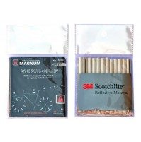 Odrazky na špice 3M Scotchlite (bal.12 ks)