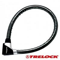 Trelock Pancierový zámok PK 480/100/21 LED 21 mm x 100 cm, držiak ZK 432