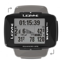 Cyklocomputer LEZYNE Super PRO GPS