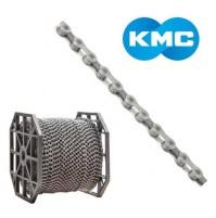 Reťaz KMC X 8 strieborno-šedá - 50 m